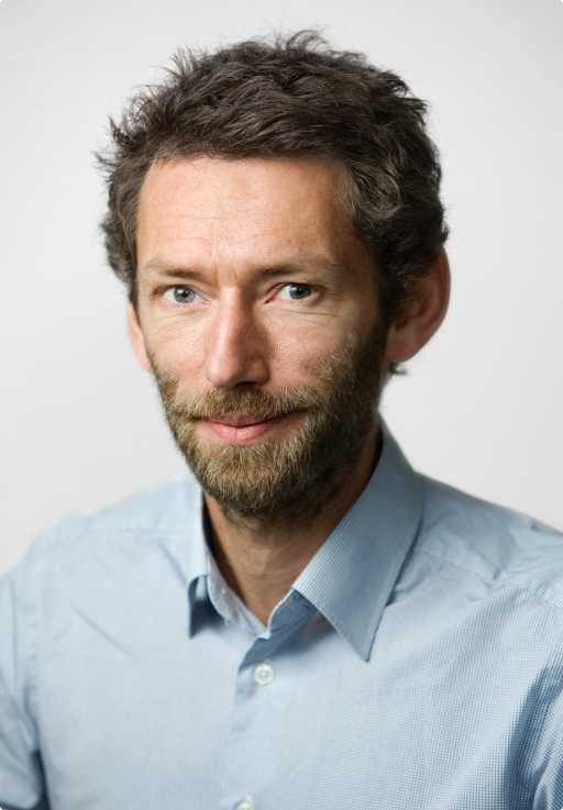 Christian Haraldsen, informasjonssjef i Gjensidige.Foto: Gjensidige