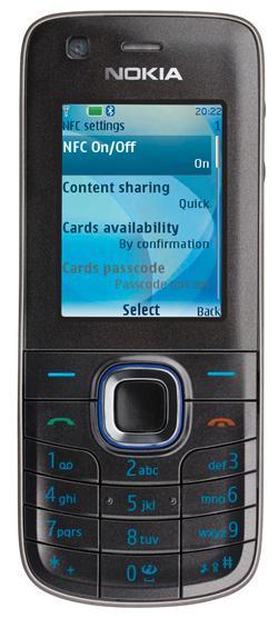 Nokia 6212 støtter mobilbetaling.