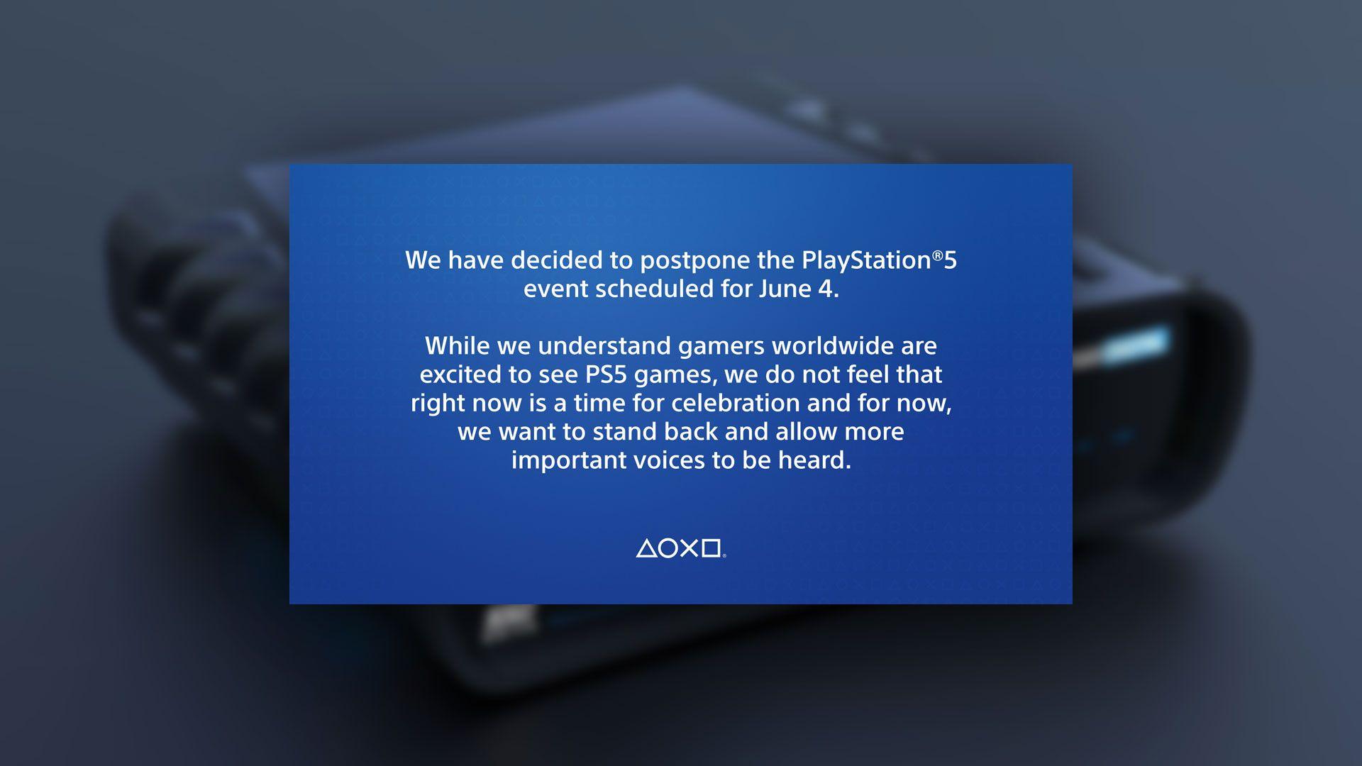 Sony utsetter PlayStation 5-avsløring