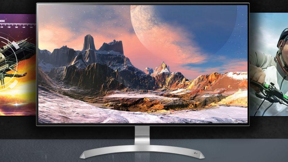 LGs nye PC-skjerm har både 4K-oppløsning, HDR-støtte og et lekkert design