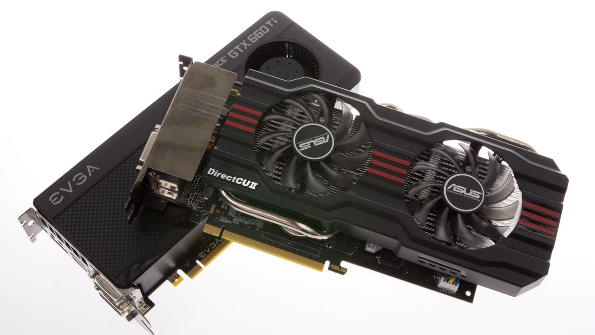 EVGA og Asus GeForce GTX 660 TI