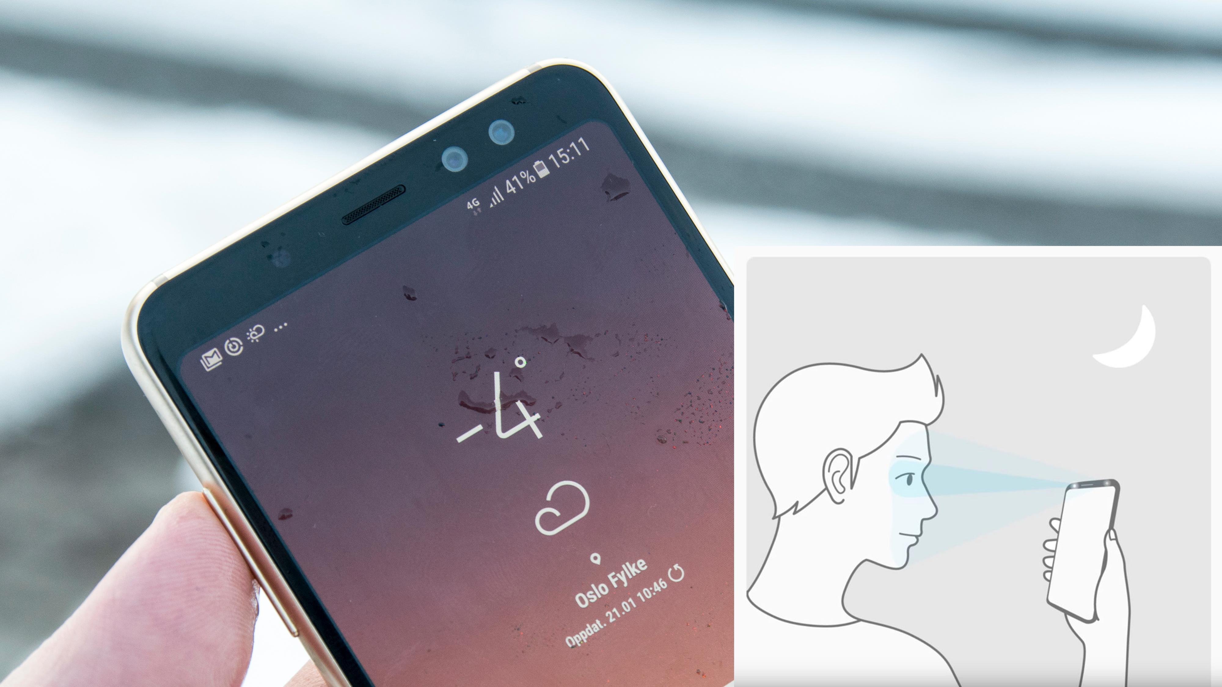 Ansiktsgjenkjenning i Galaxy S9 kan bli mye bedre
