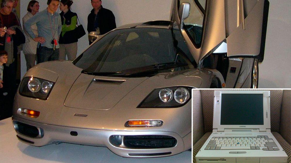 Programvaren i den svindyre Mclaren F1 er så begrenset at den må vedlikeholdes av en 20 år gammel PC