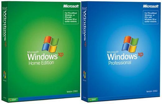 Klassiske Windows XP-esker.Foto: Microsoft / Wikipedia