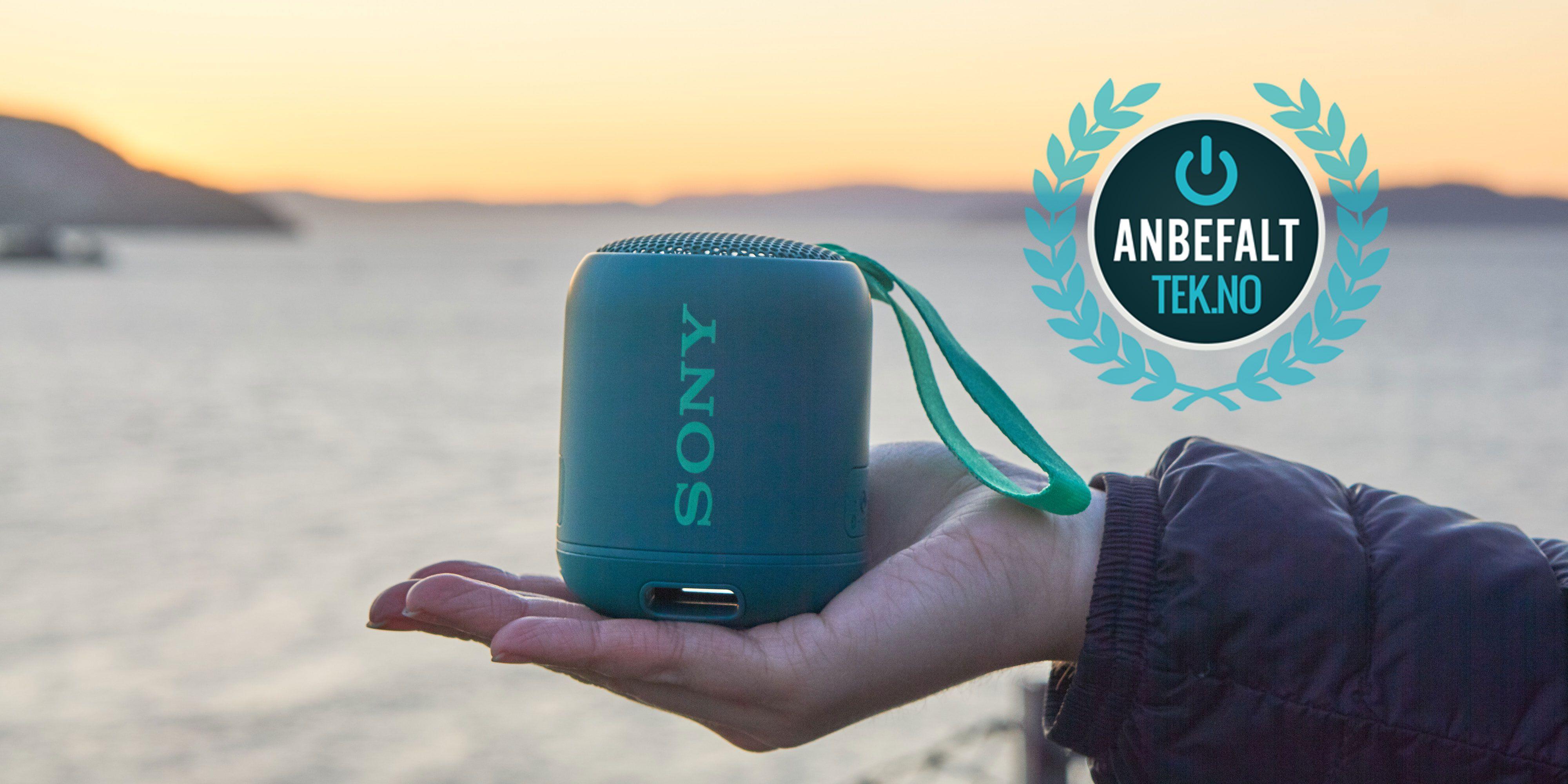 Sony SRS-XB12 gir veldig mye høyttaler for pengene i en liten pakke.