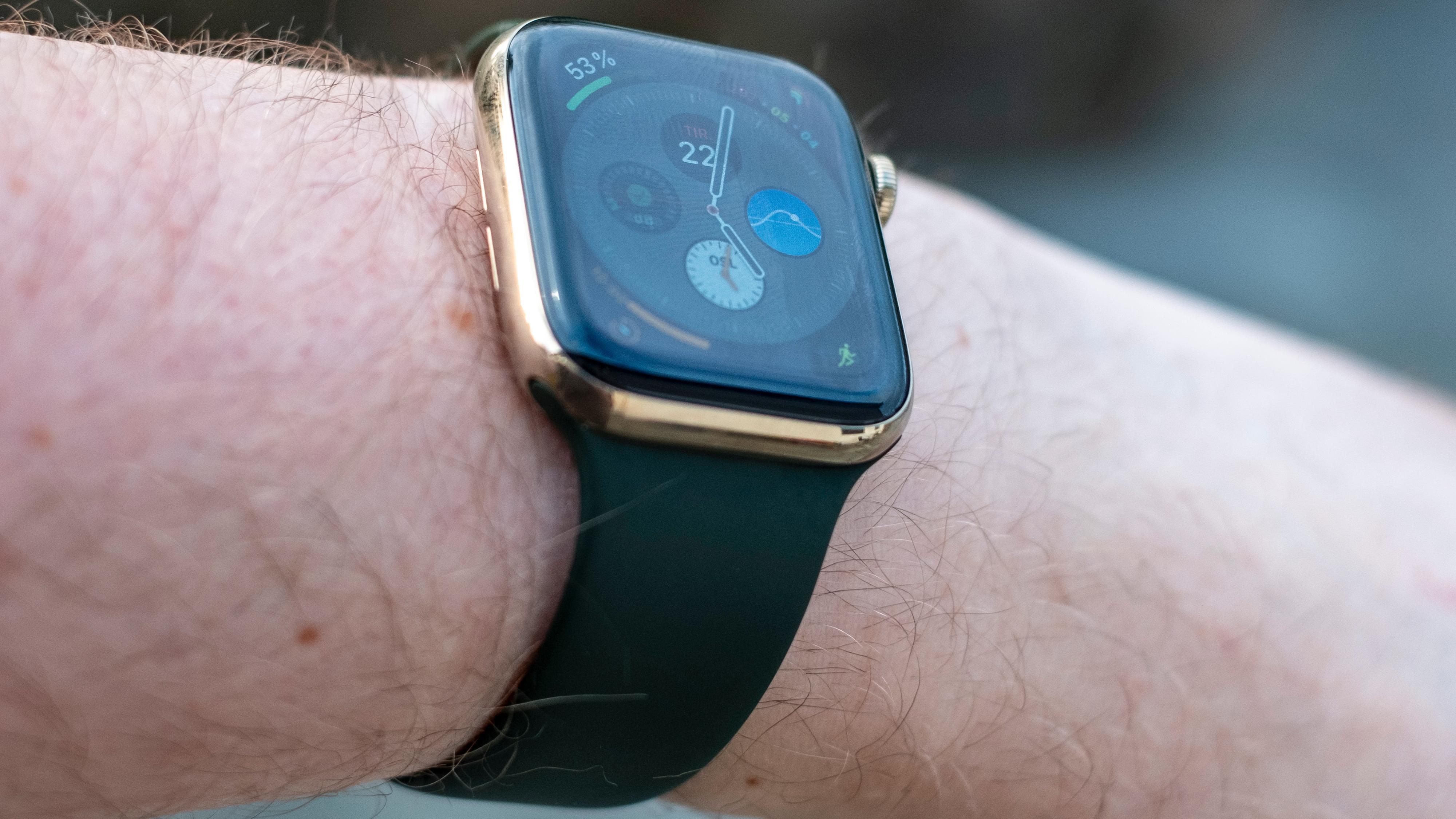 Gullfarget stål er en av de nye tingene du kan velge i Apple Watch-utvalget i år.