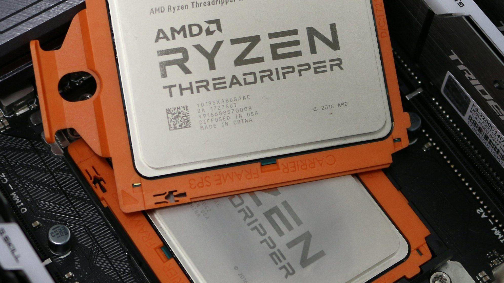 Andre generasjon AMD Threadripper får opptil 32 kjerner