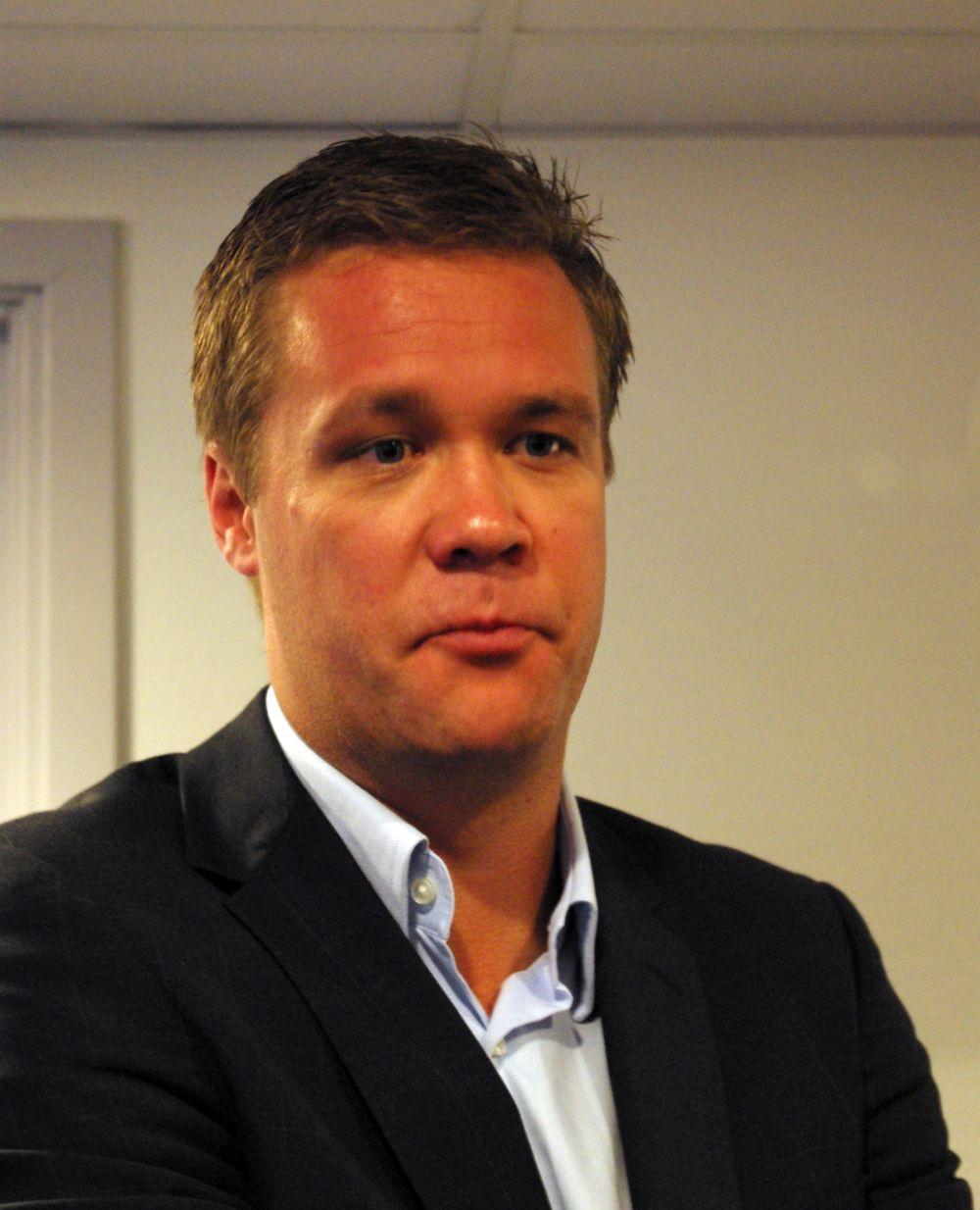Vegard Kjenner, fungerende produktdirektør i Netcom. (Foto: Einar Eriksen)