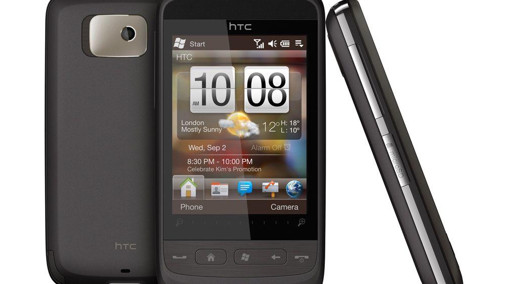 HTC lanserer ny trykkskjermmobil