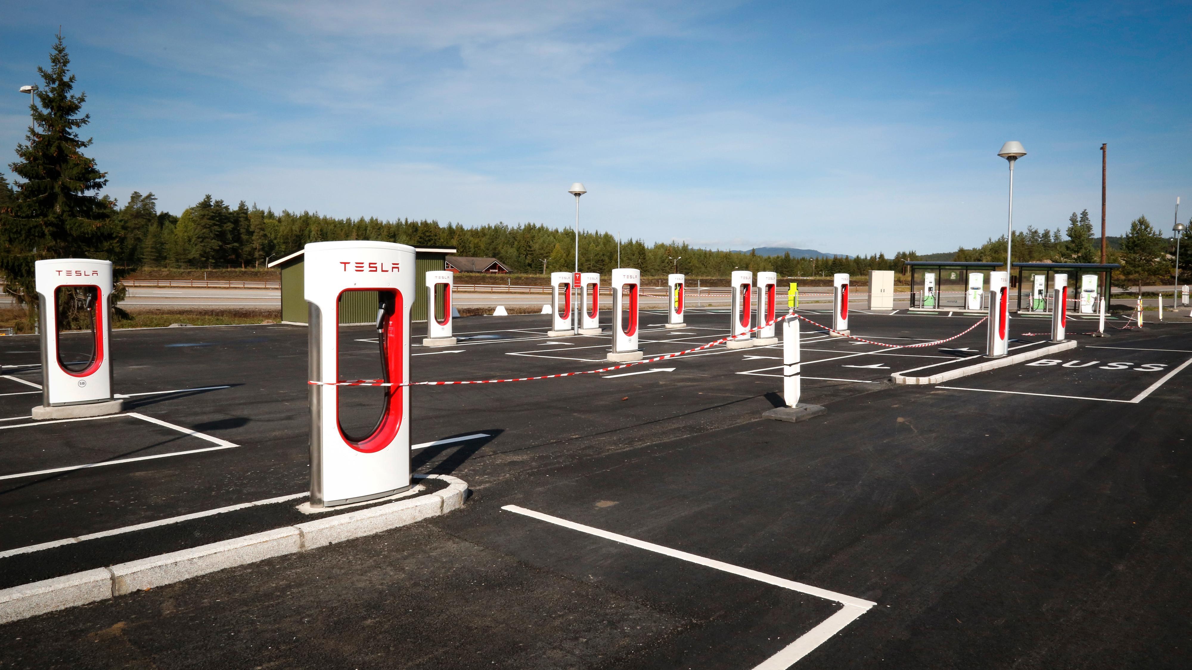 – Superchargerne åpner for andre merker i år