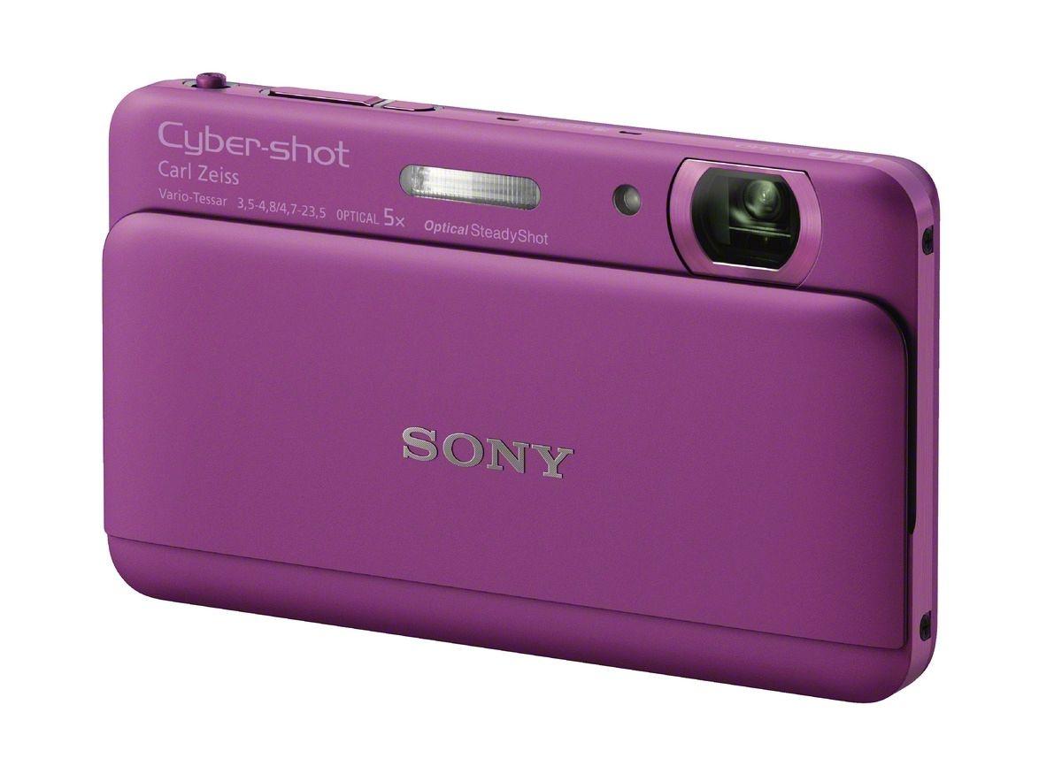 Slankt og lekkert kamera, leveres i mange farger.