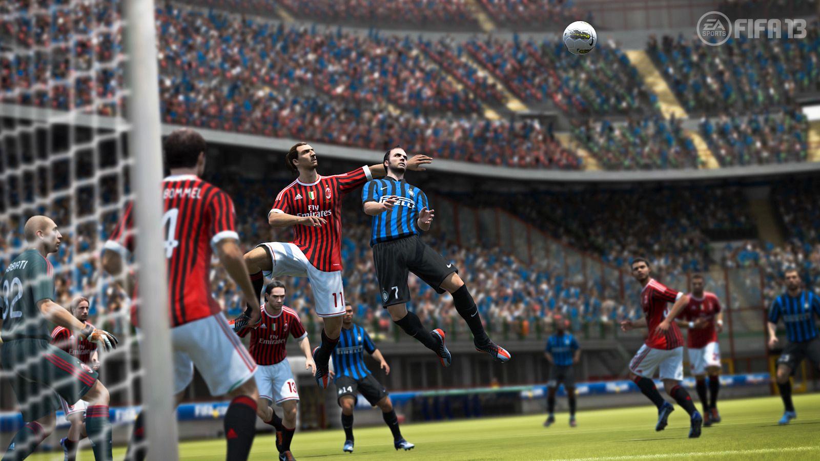 Zlatan i aksjon i FIFA 13.Foto: EA Sports