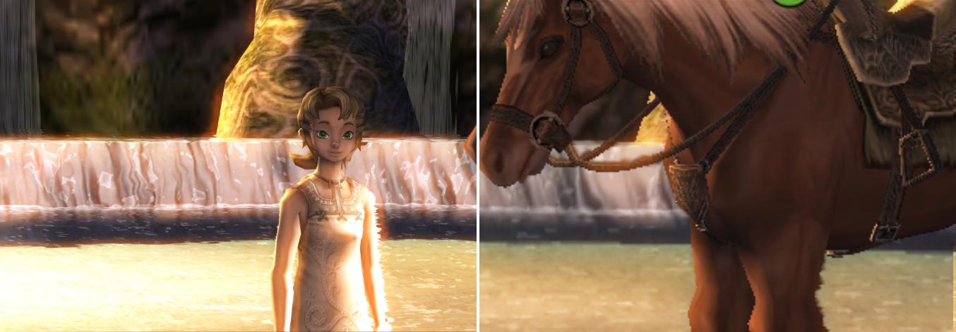 Kantutjevning reduserer de harde kantene, og Dolphins høyoppløste teksturer gir Twillight Prinsess den visuelle punchen det skulle hatt ved lansering.Foto: Nintendo, Hardware.no