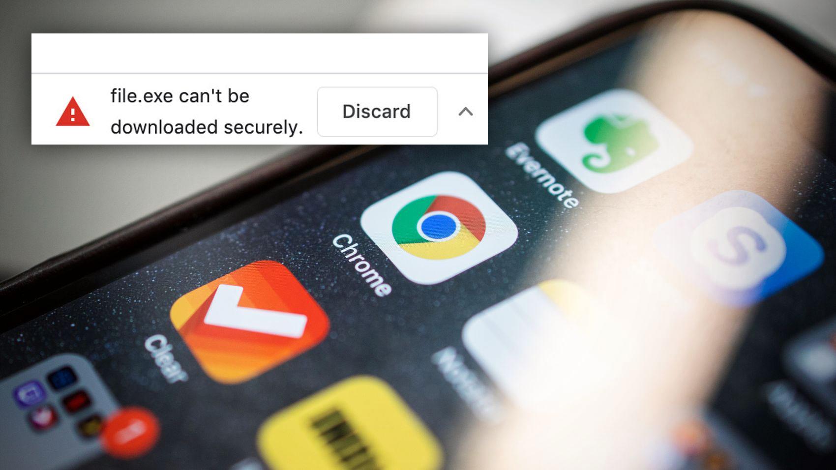 Nå skal Google gjøre det vanskeligere å laste ned virus