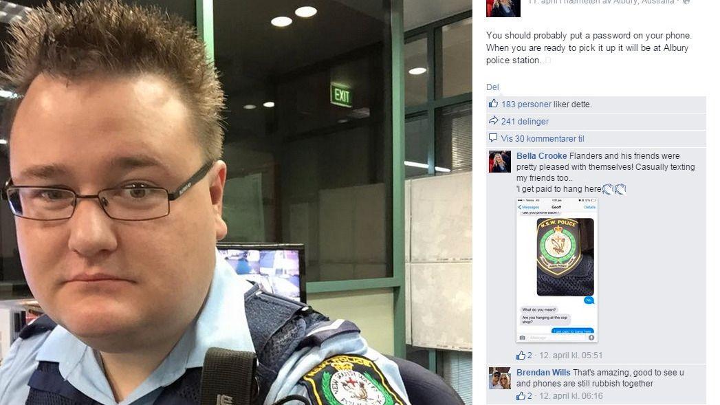 Hun hadde ikke lås på mobilen - ble «Facerapet» av politiet