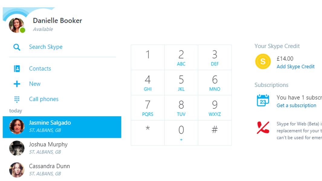 Skype har nå blitt nesten like bra på nettet som i app-format