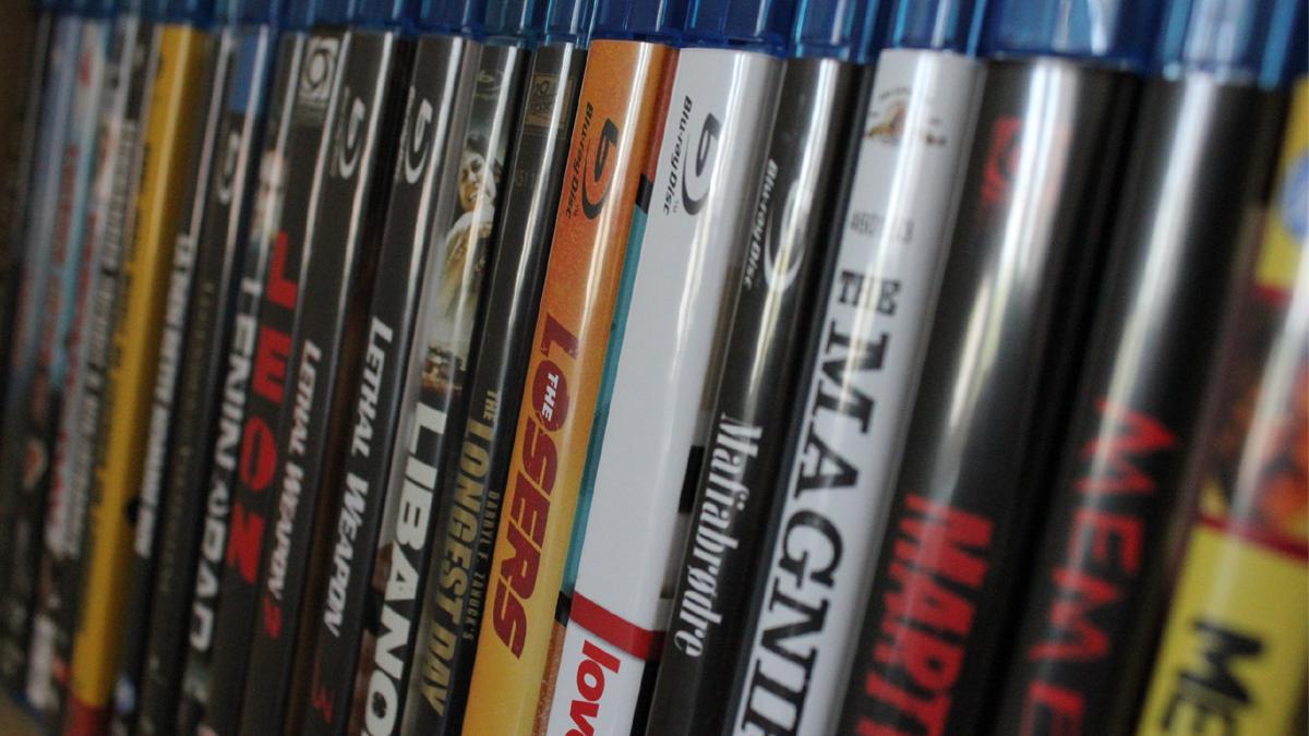 Blu-ray overtar for DVD