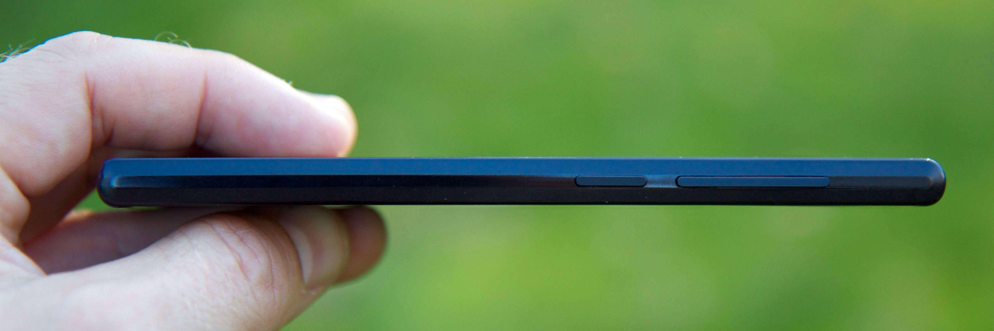 Blade Vec 4G er en slank og elegant smartmobil.Foto: Kurt Lekanger, Tek.no