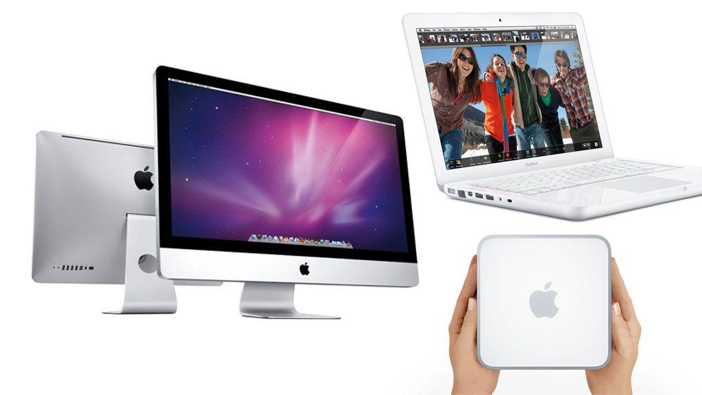 Se de nye Apple-maskinene