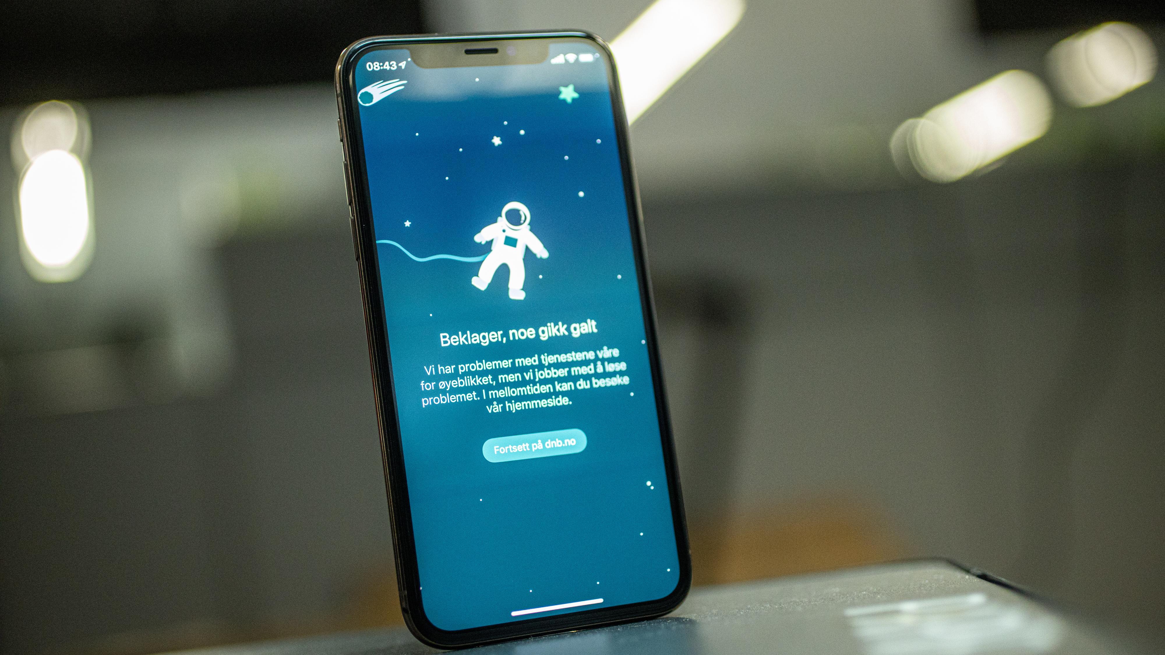 DNBs nye mobilbank var nede i hele landet