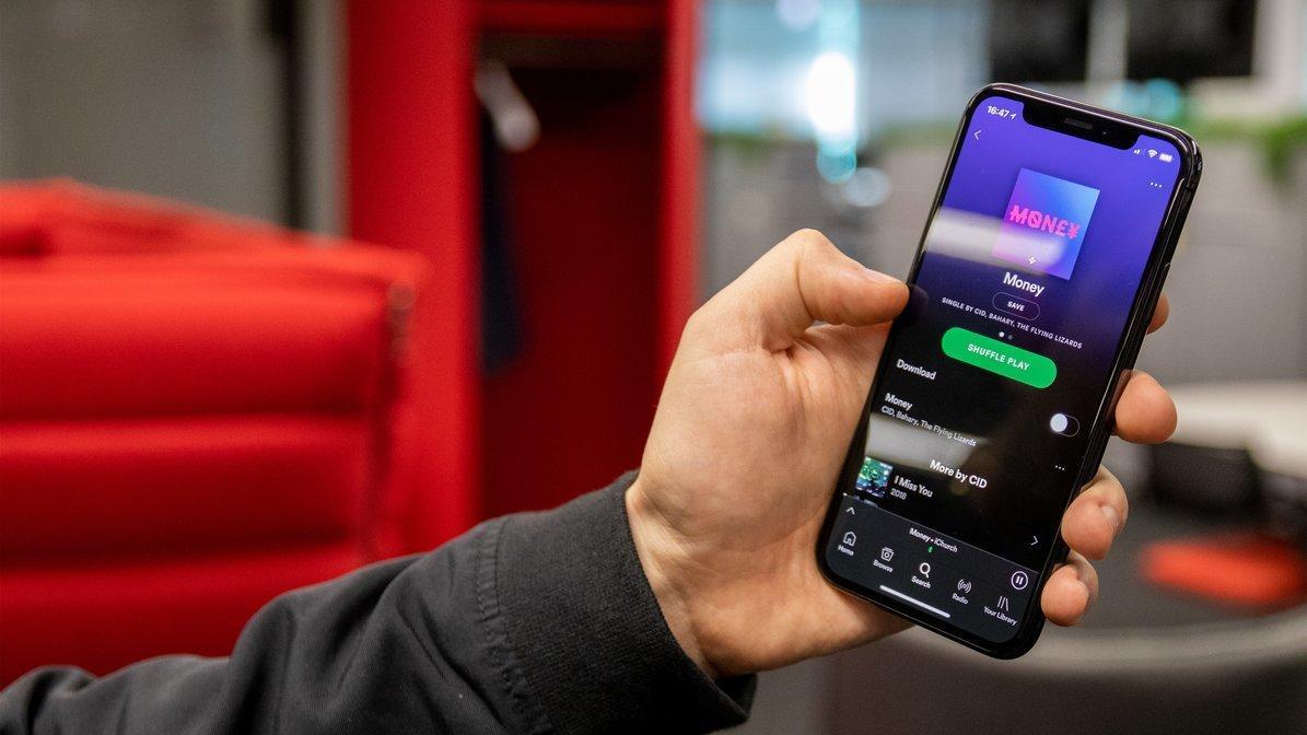 Spotify slår ned på abonnementsdeling med venner