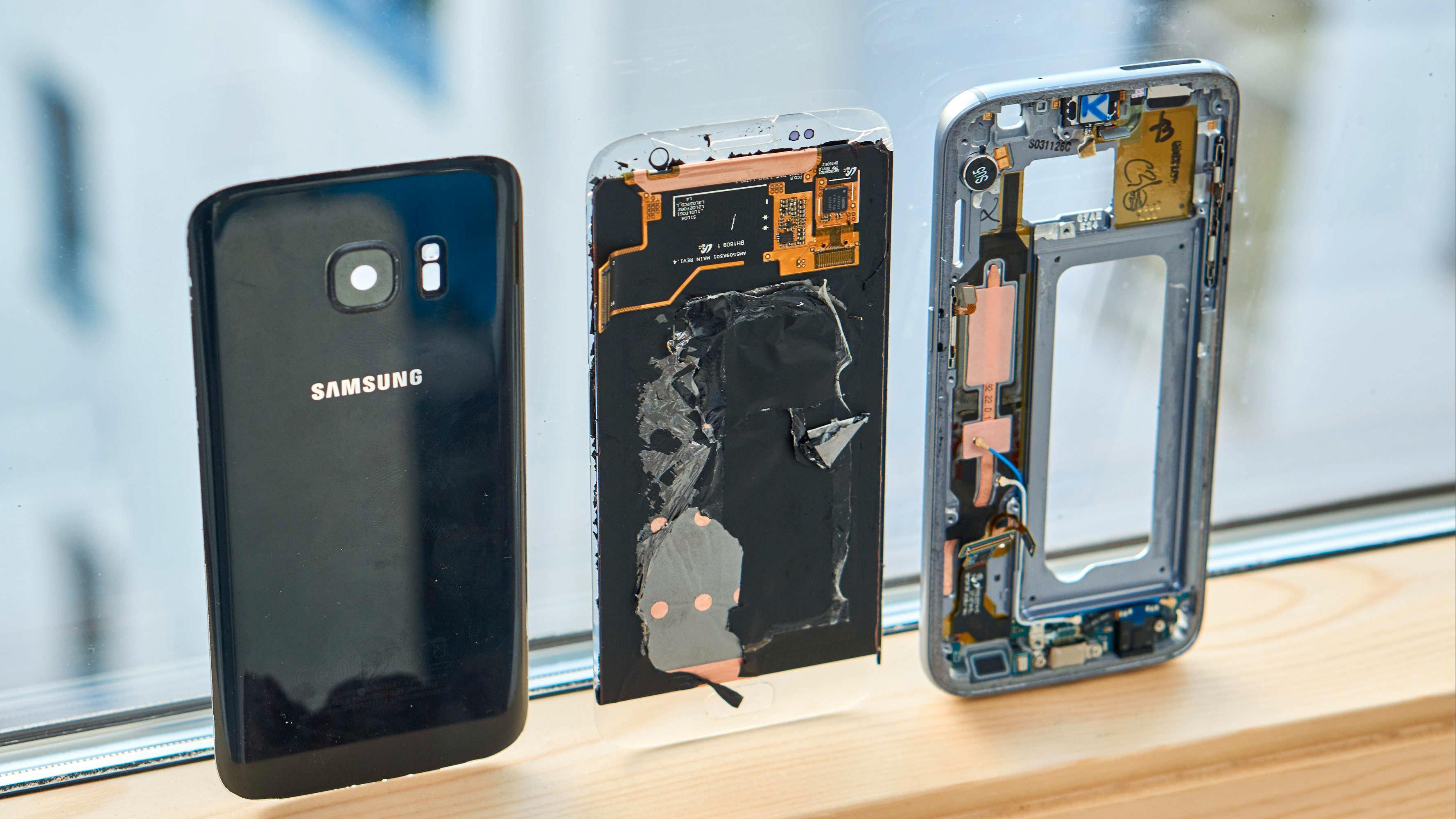 Reparasjon av Galaxy S7