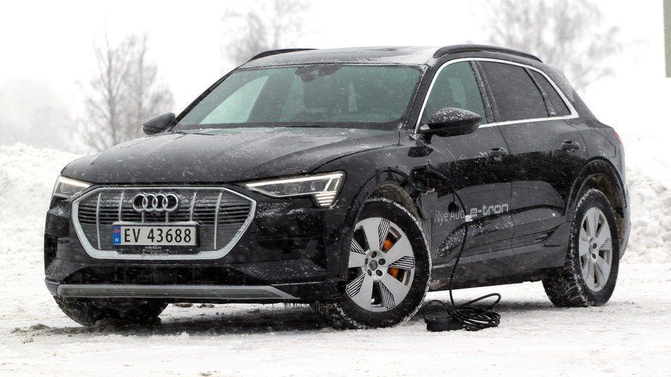 Audi fortsetter jevnt og trutt leveringene av e-tron.