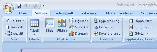 Microsoft Office 2007 støtter Open XML