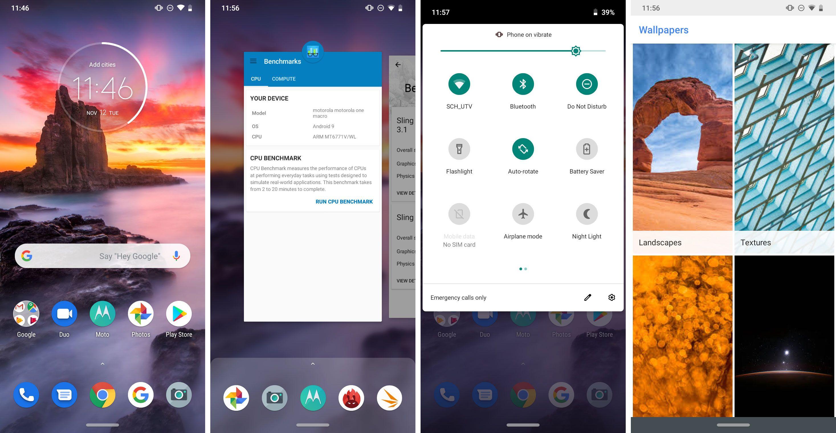 Nokså ren Android, men ikke Android One.