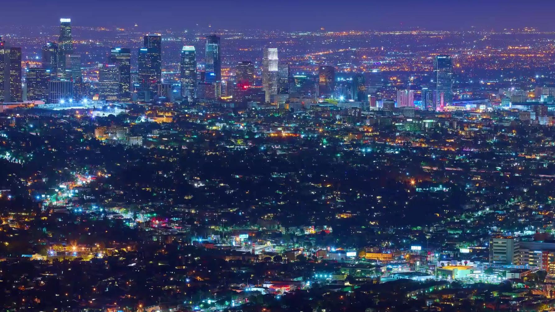 Se den utrolig 12K-timelapsen av Los Angeles