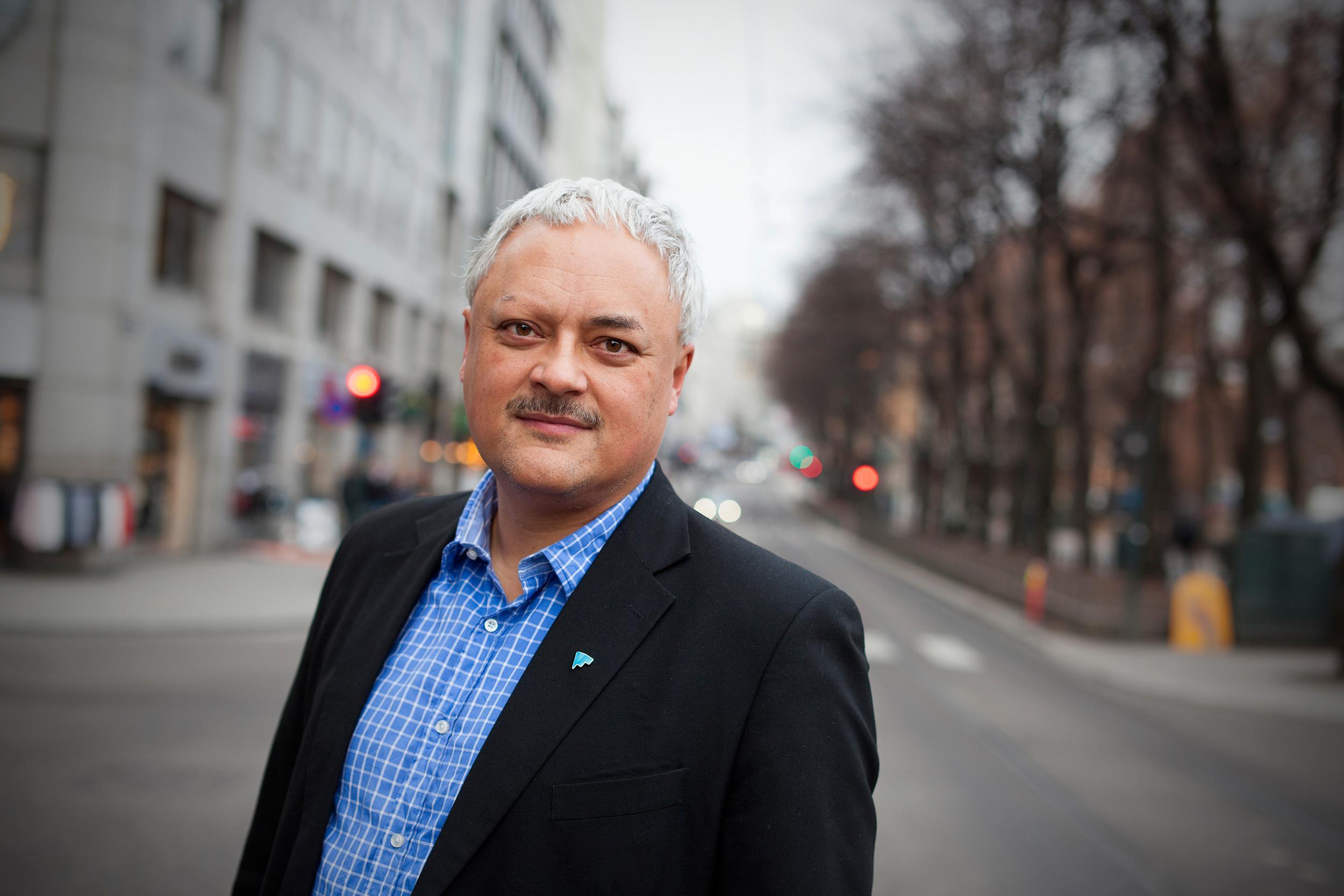 Jorge Jensen i Forbrukerrådet mener BankAxept ikke har holdt tritt med utviklingen.Foto: Forbrukerrådet