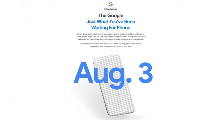 Google ser ut til å endre på designen til den nye nettsiden fra dag til dag. Slik så den ut da Gsmarena foreviget et bilde av den.