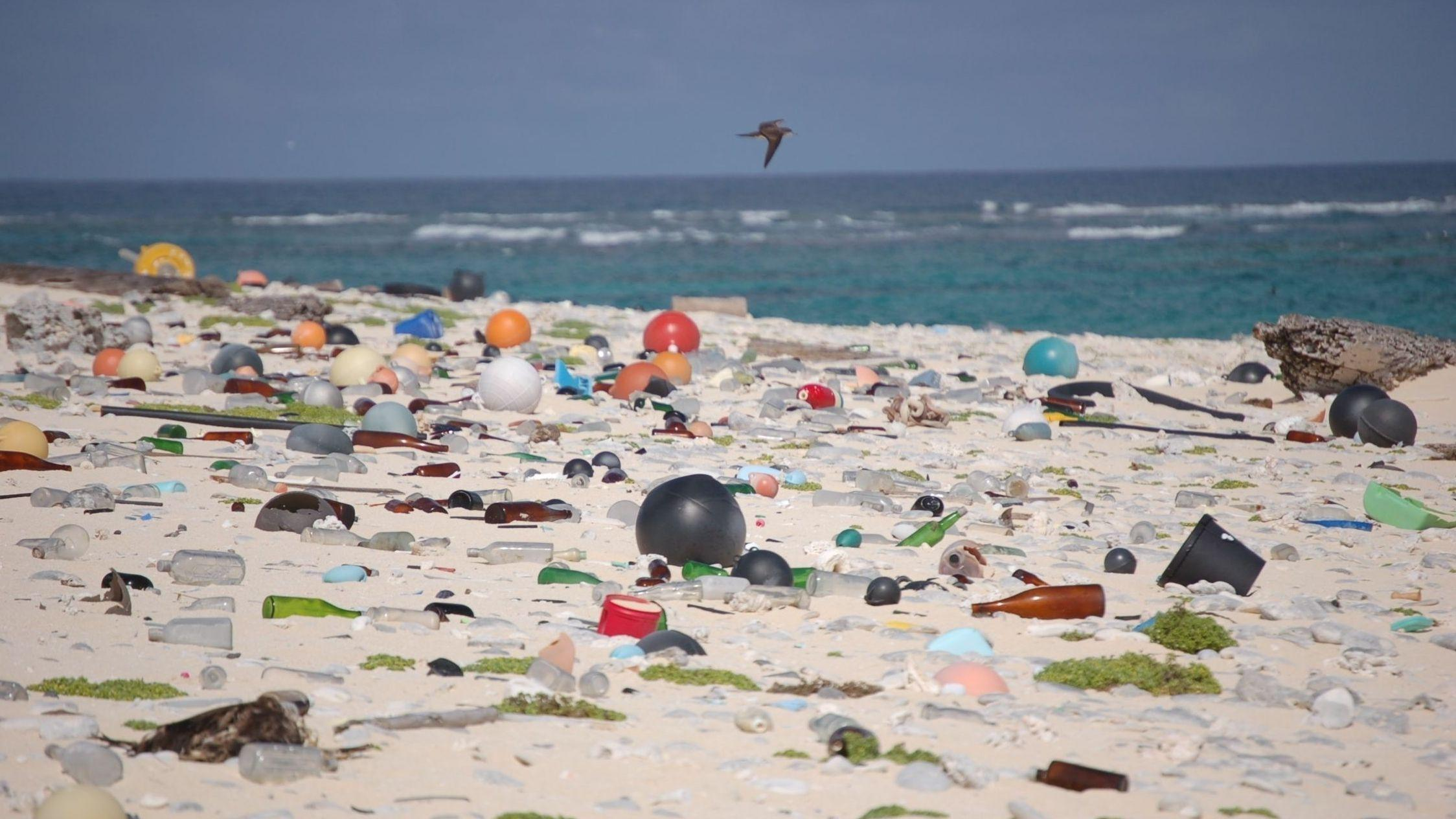 Hvert verdenshav har en gigantisk malstrøm av plastsøppel