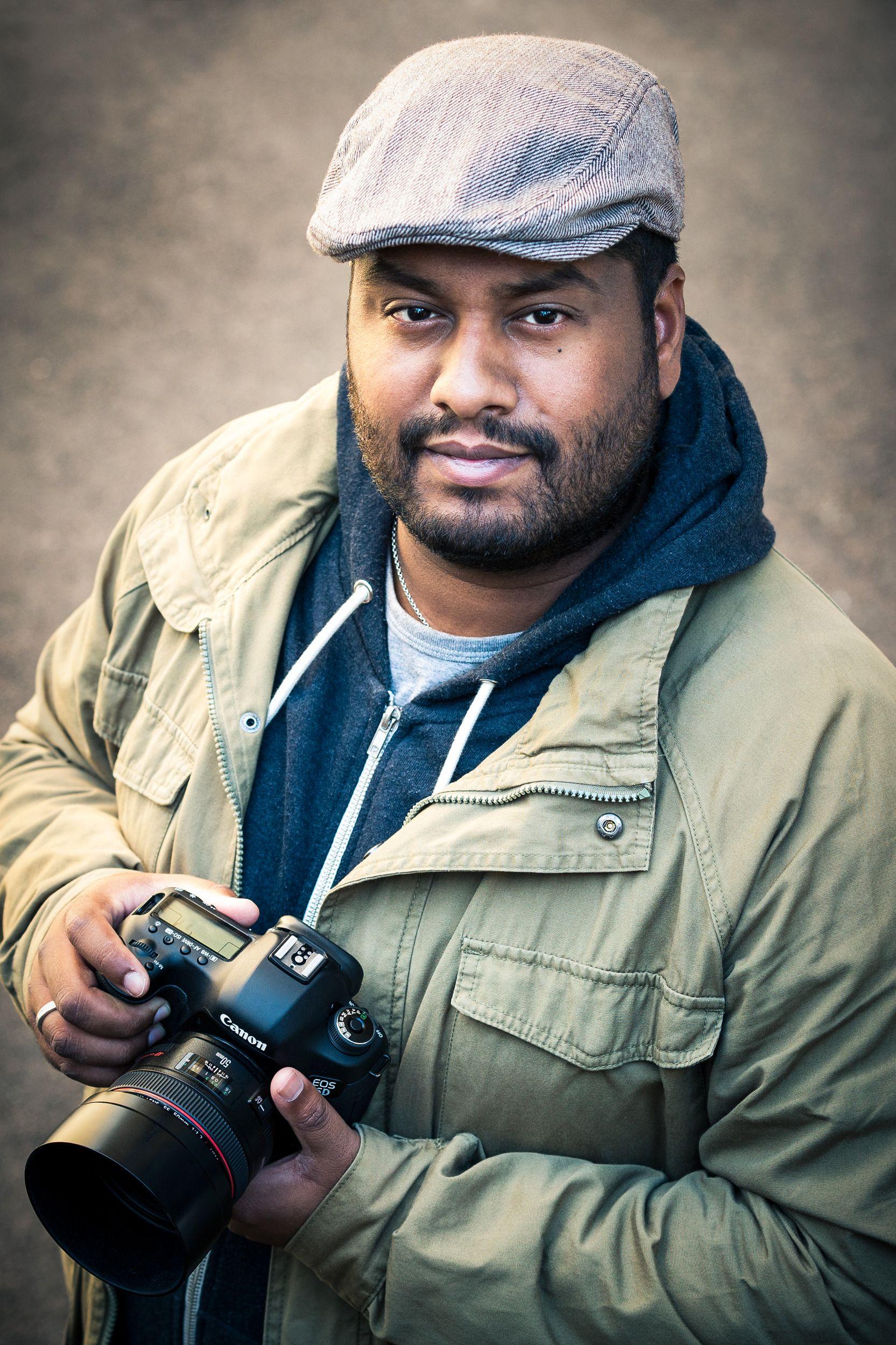 Johannes er fotograf, og frilansskribent for Tek.no. Foto: Alex Hoel