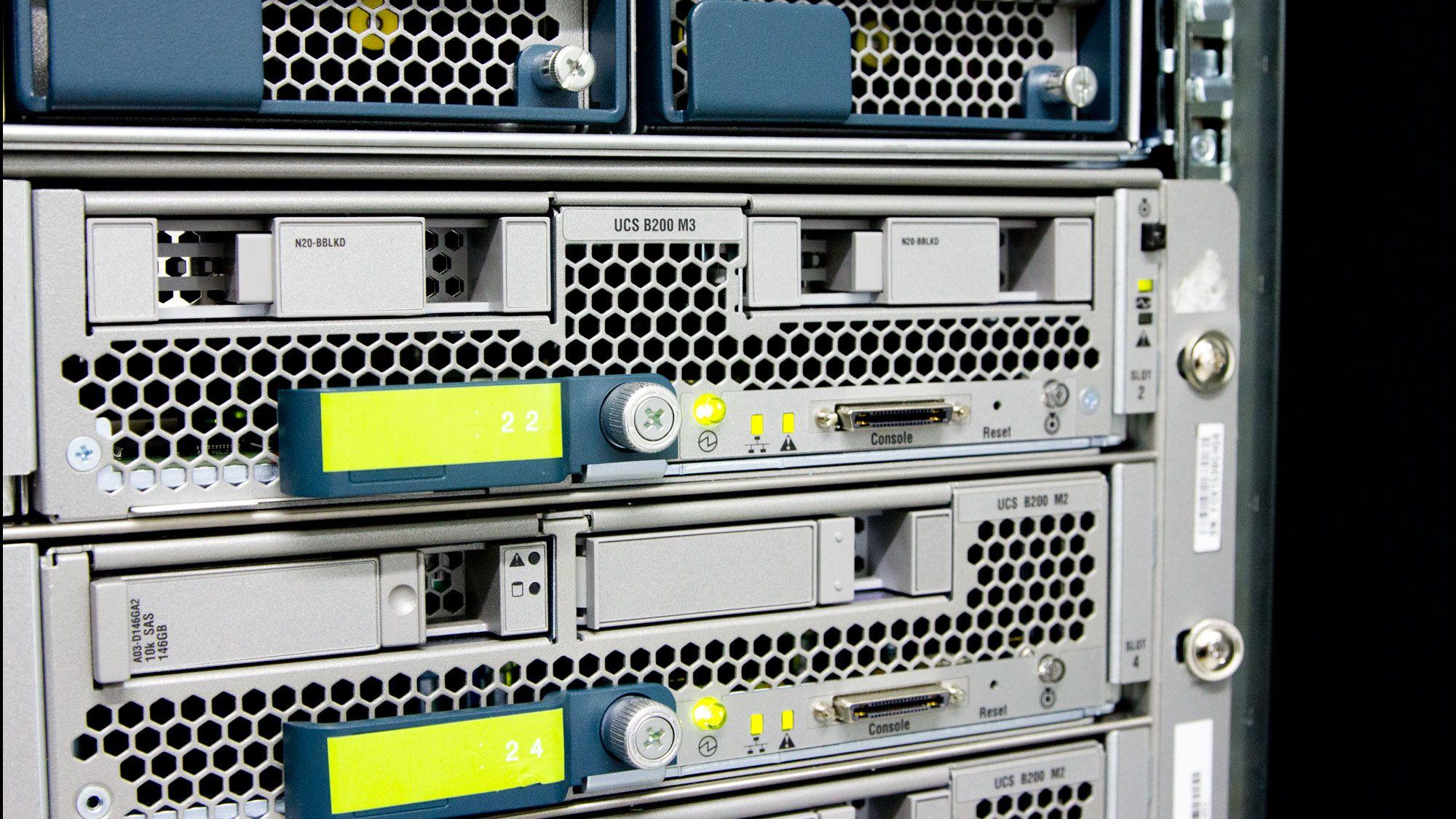 Dette er maskinene som leverer Tek.no til deg
