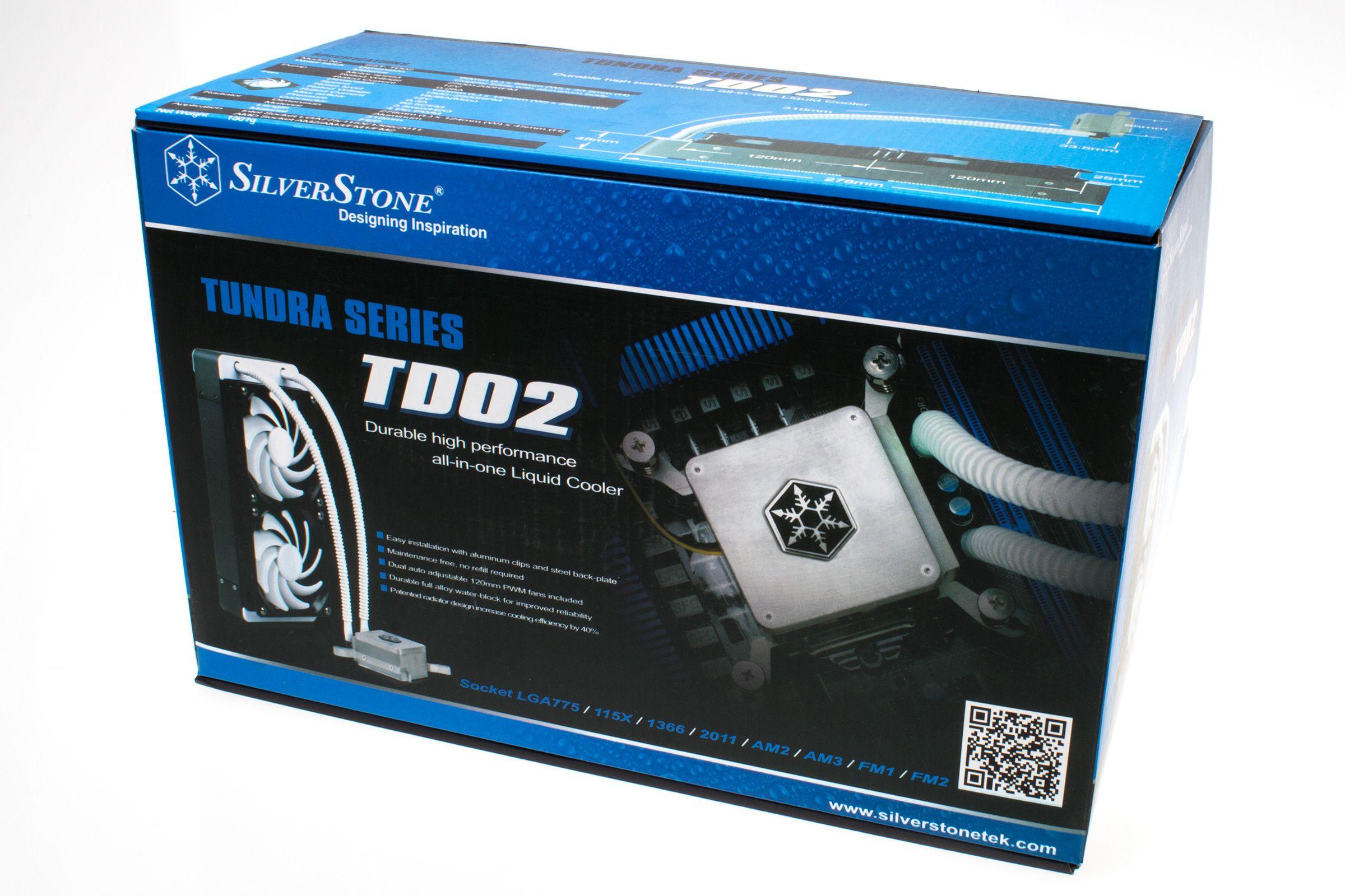 Silverstone Tundra TD02: Produkteske.Foto: Varg Aamo, Hardware.no