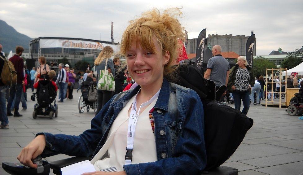 Marianne Knudsen, nestleder i Norges Handikapforbund for Unge.