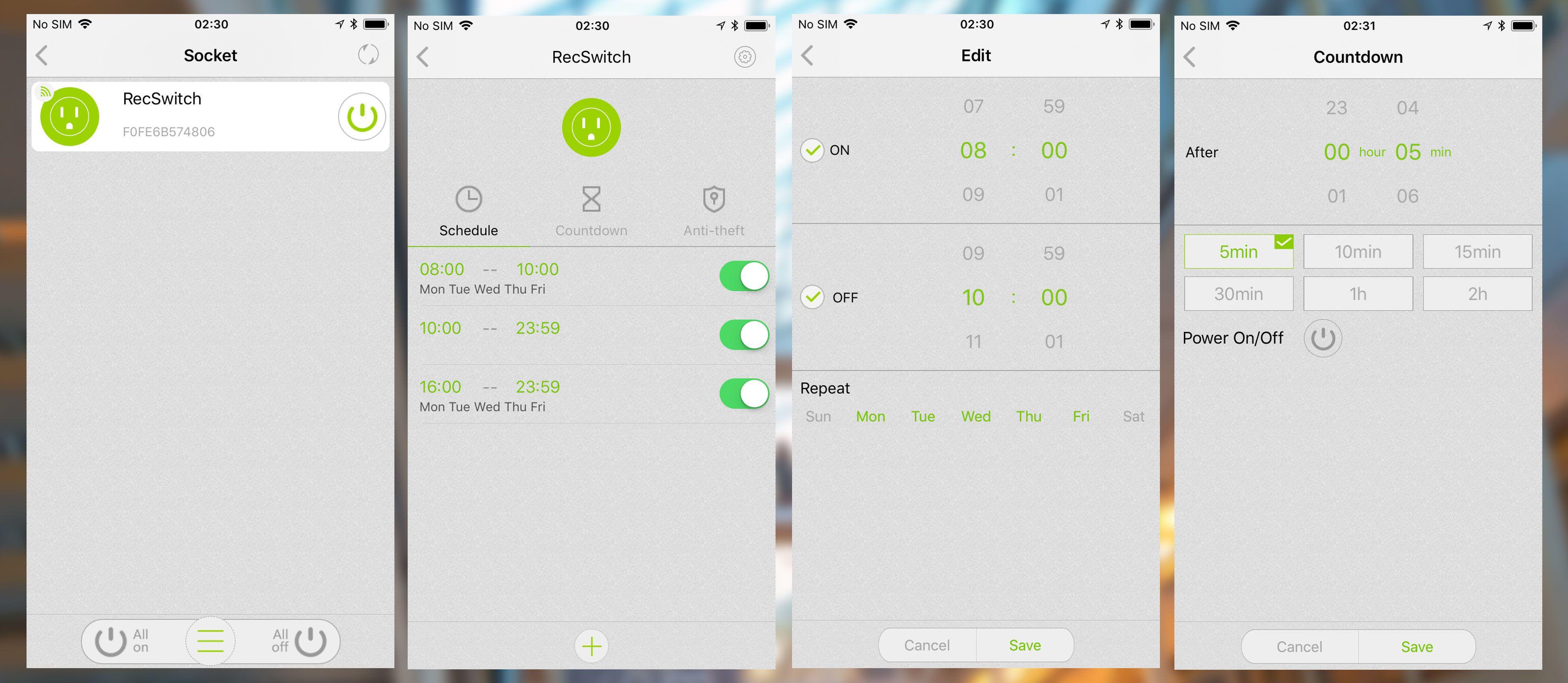Malmbergs-appen (REC) er ikke helt toppmoderne, men fungerer finfint og har mange muligheter.