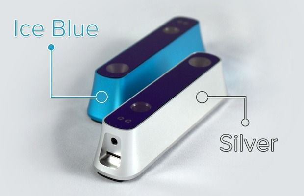 Sensoren kommer i to farger - blått eller grått.Foto: Occipital
