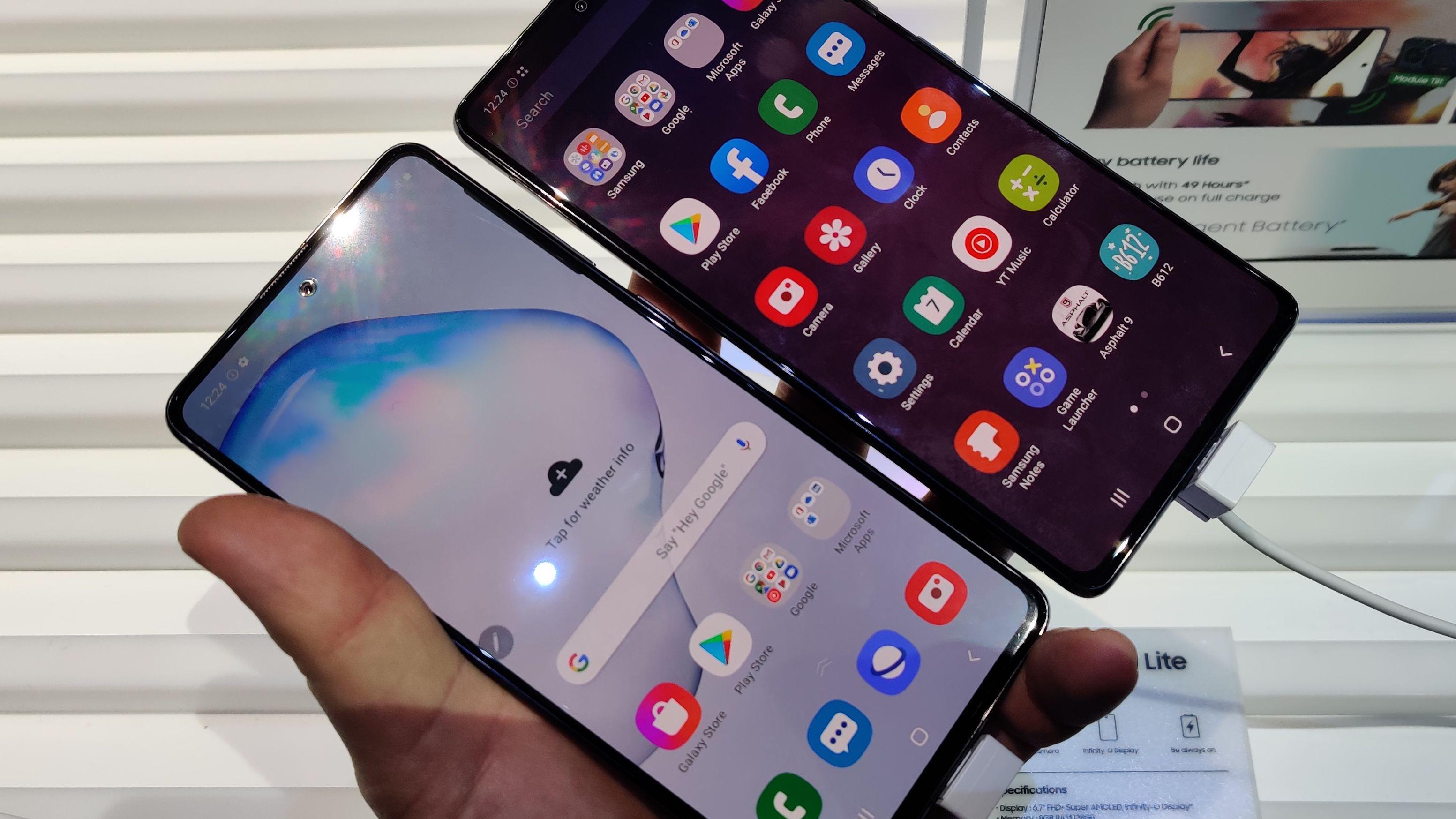 Slik er Samsungs fire nye mobiler