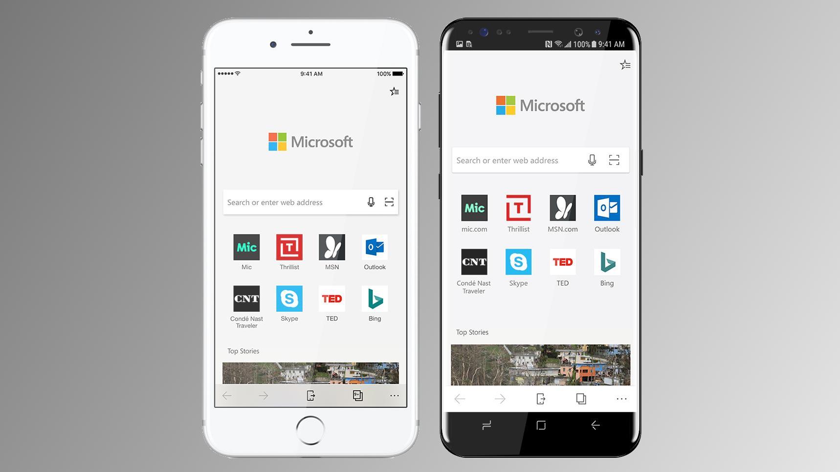 Microsoft Edge lanseres til Android og iPhone