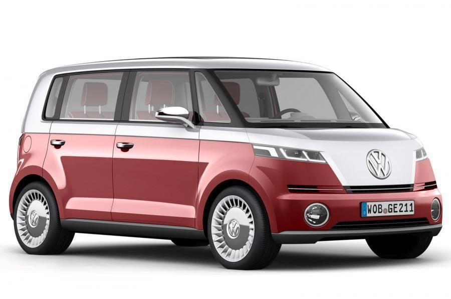 Volkswagen Bulli kom aldri i salg. Foto: Volkswagen