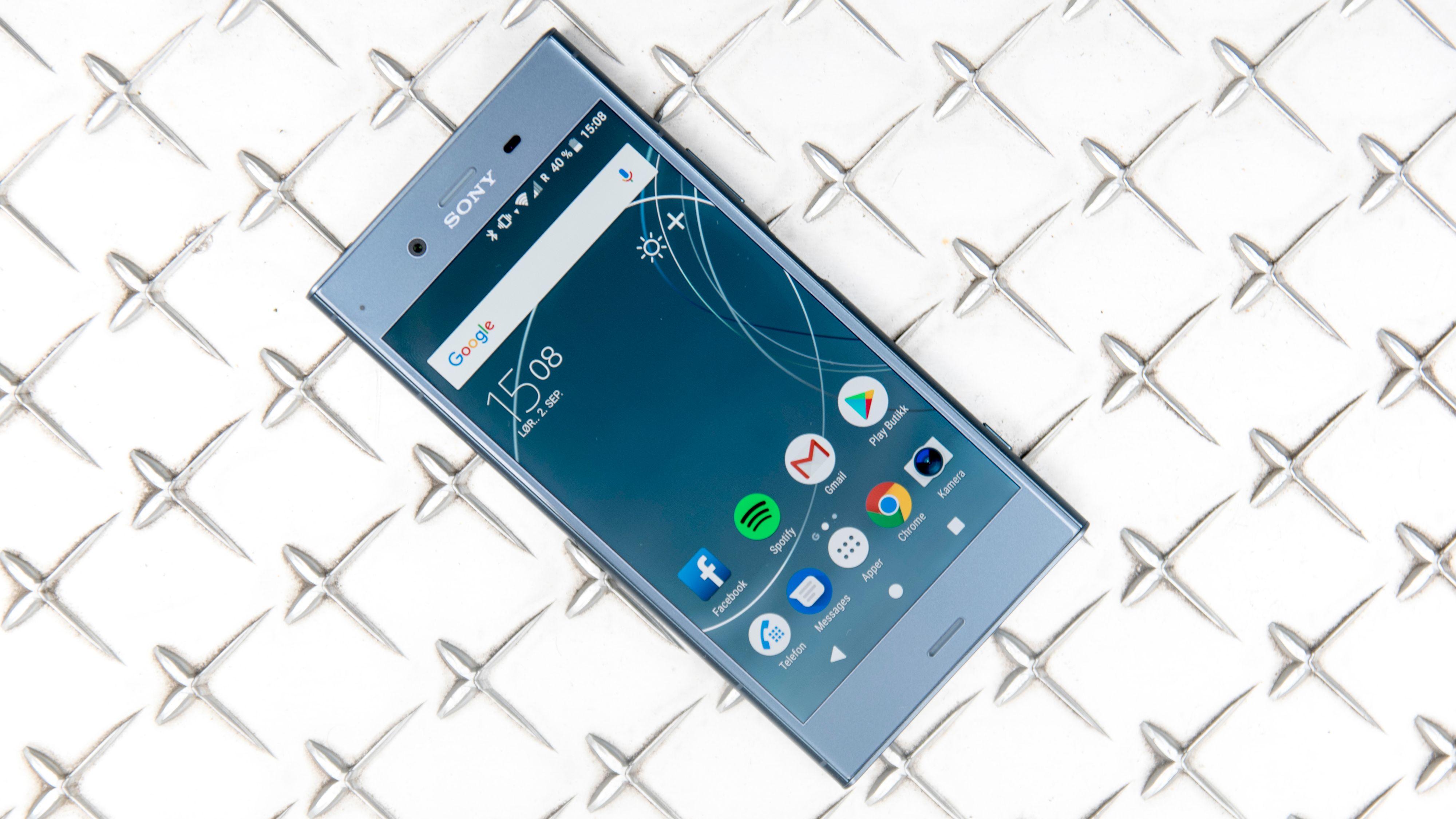 Test av Sony Xperia XZs Mobil