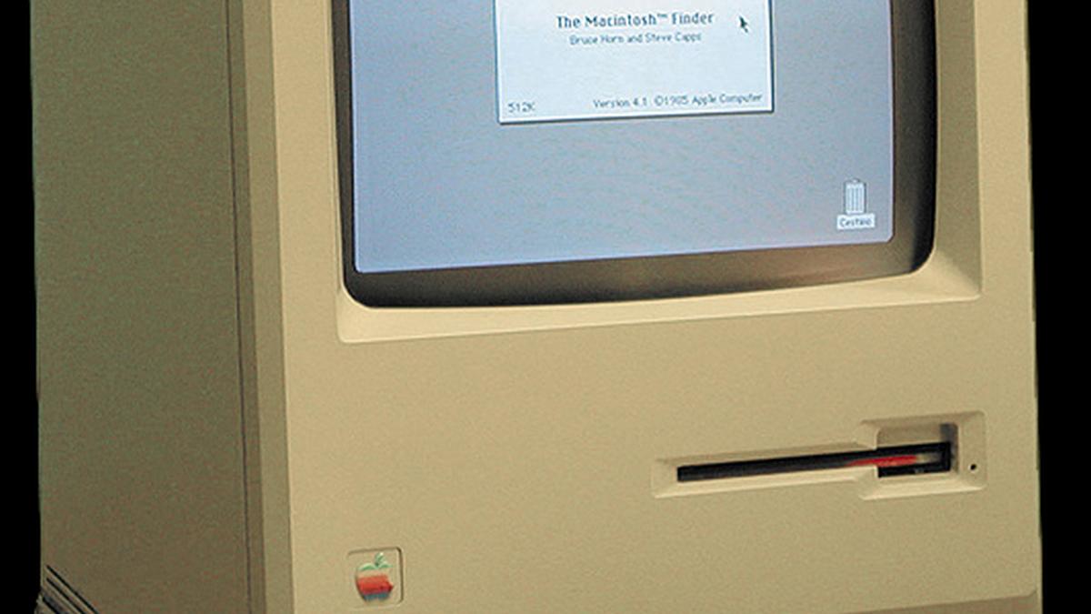 Slik var verdens første Mac