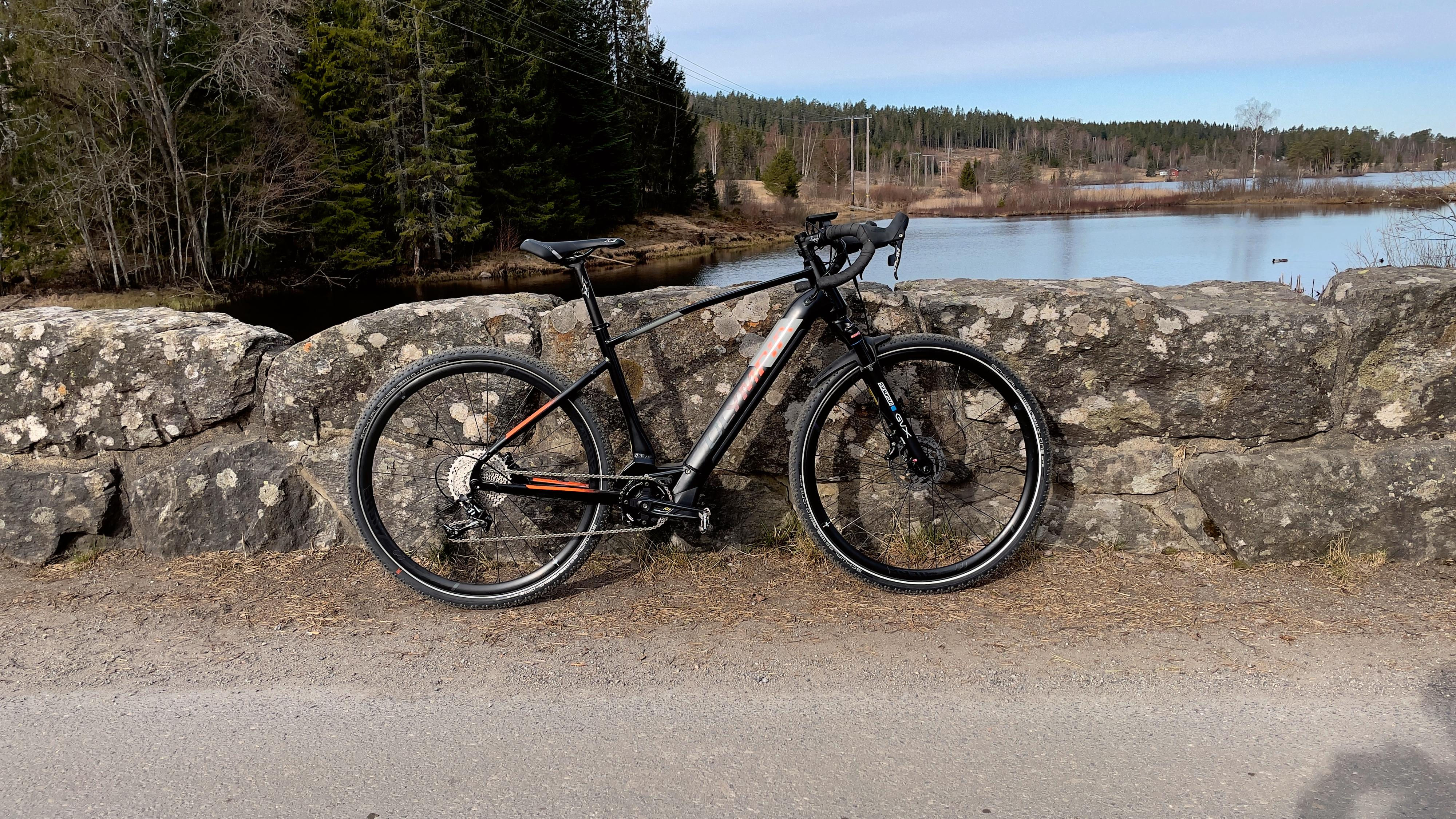 Resten av sykkelen var kurant under vår testperiode.