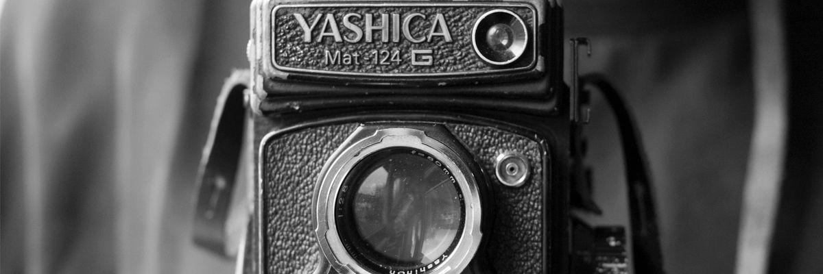 Den unge mannen og det gamle kameraet