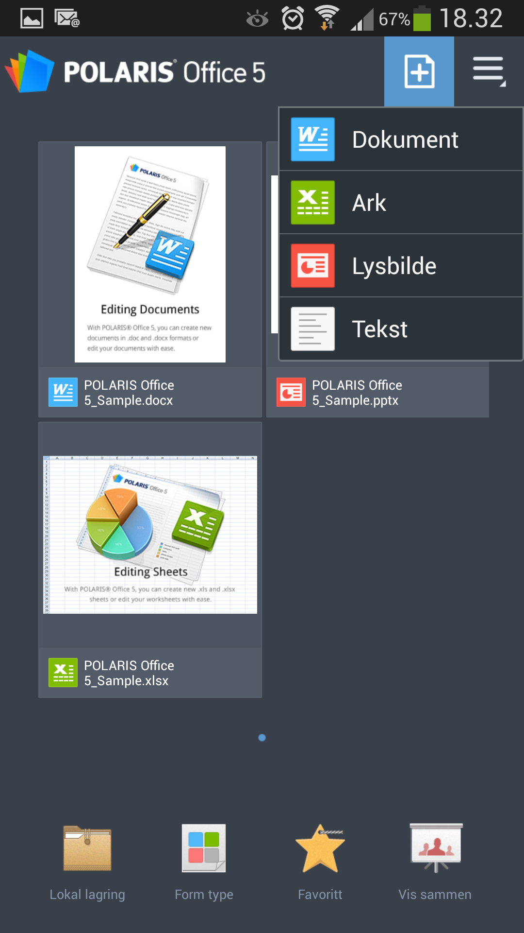 Polaris Office 5.0 er en særdeles kapabel kontorpakke.