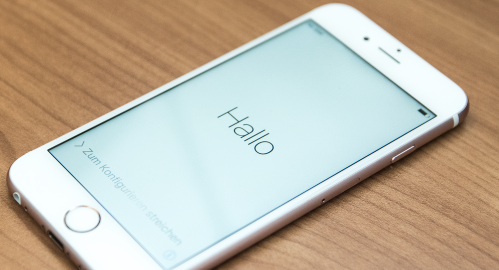 iPhone 6S fra 2015.