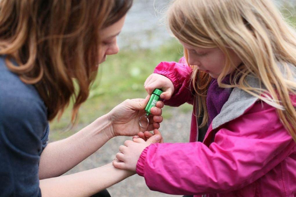 Geocaching er for hele familien. Foto: Groundspeak