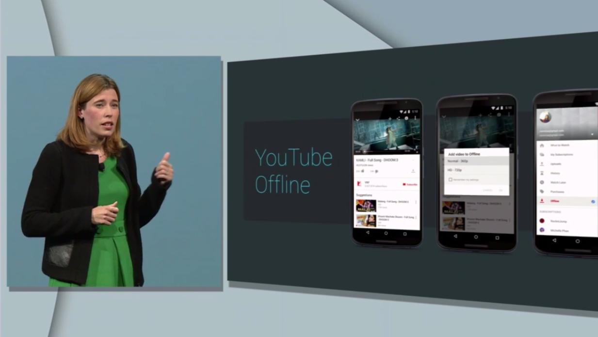 YouTube får også en ny offline-funksjon som gjør det mulig å se videoer uten nettforbindelse i en begrenset periode. Foto: Skjemdump/YouTube